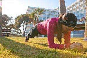 Kräftigungsübungen zur Stärkung der Hüftmuskulatur