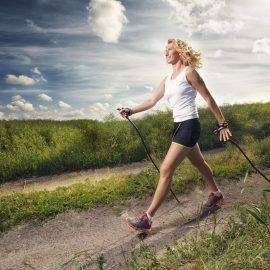 Hol's Stöckchen oder gib Gummi: Nordic Walking vs. Laufen